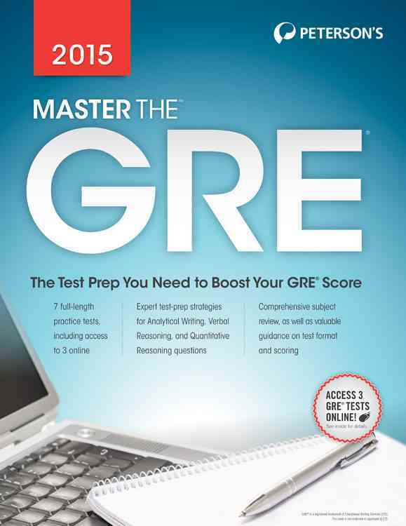 Master the Gre 2015 By Moran, Margaret